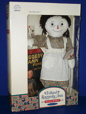 Volland RAGGEDY ANN with Book Authentic Reproduction by Applause in Box!