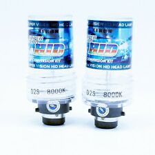 2x HID XENON BULBS D2S P32d-2 8000k WHITE GOOD QUALITY !