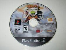 Naruto: Ultimate Ninja (Sony PlayStation 2, 2006) Disc Only