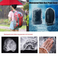 Disposable Large Cycling Backpack Waterproof Rain Dust Proof Cover Travel