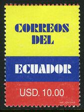 Ecuador 1859, MNH. Colors of Ecuador Flag, 2006