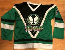Customized SPAWN Hockey Jersey McFarlane Mesh Embroidered Size L