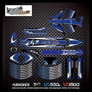 Scorpa SY250R 04-12 Kit Blue Decal Sticker Trials (779)