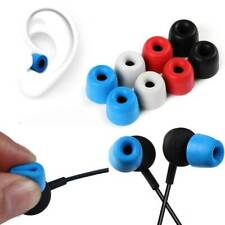 6Pcs Noise Isolating Memory Foam Ear Tips Ear Pads Earbuds For In Ear Headphones