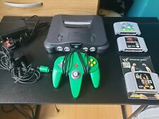 Nintendo 64 Black Console (PAL) with mario 64 and other games