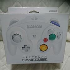 Nintendo Official GameCube Wii Controller Pad White Japan F/S
