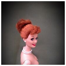 NUDE BARBIE MATTEL CELEBRITY DOLL I LOVE LUCY REDHEAD ROOTED LASHES 4 OOAK #4