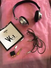 AEDLE VK-1 On-Ear Headphone Made In France With Extras Noise Cancel