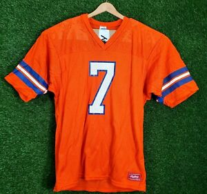 Vtg Denver Broncos Jersey John Elway #7 Made In USA Rawlings NFL Football L 90s