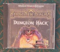 Dungeon Hack Advanced Dungeons And Dragons Forgotten Realms CD-ROM PC Game SSI