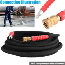 Pressure Washer Hose 38inch X 50 4000 Psi With Quick Connects Industrial
