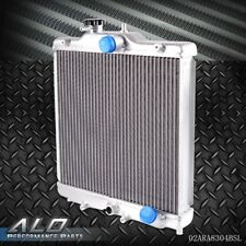 3 ROW 52MM Full Aluminum Radiator For HONDA CIVIC B18C/B16A 32MM IN/OUT