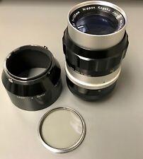 Nikon 135mm f/3.5 Nikkor-Q Non Ai Lens