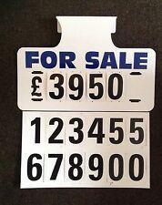 10 X For Sale Visor Price Sets, Car For Sale Signs, Boards, Sale Signs, Cars Van
