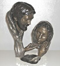 "Mark Hopkins Bronze Sculpture Statue ""Forgiven"" #126,  18"" x 14"" x 7"""