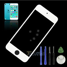 White Front Outer Glass Lens Screen for iPod Touch 5 5th Gen Replacement + Tools