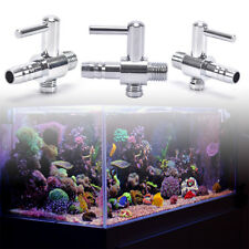 2x air flow line stainless steel control valve aquarium fish tank lever pump FE