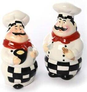 Fat Chef Salt and Pepper Shaker Set