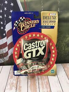 Car 1:64 Diecast NASCAR Casey Atwood Castrol GTX 2000 Chevy Mini Race Hood