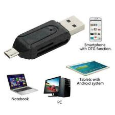 More details for memory card reader micro usb otg to usb 2.0 adapter usb 2.0 sd/micro sd card uk