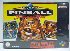 SUPER PINBALL BEHIND THE MASK - SUPER NINTENDO SNES PAL BOXED