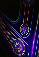 Tron Screen Printed Fluorescent Shroud Art Exclusive!