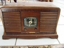 Vintage Zenith 5G534 Ingraham Double Toaster Cabinet For parts repair no knobs