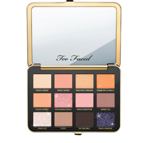 NIB Too Faced White Peach 12 Color Eyeshadow Palette 100% Authentic!!!