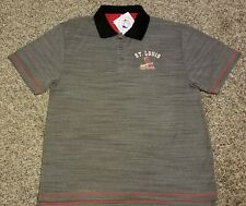 St. Louis Cardinals adult Large MLB polo shirt! New with tags! Stitches!
