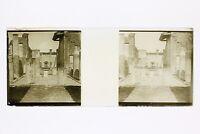 Italia Pompei Foto Placca P45L5n9 Lente Positivo Stereo