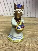"Lovely Royal Doulton Bunnykins - Mrs Bunnykins ""At The Easter Parade"" DB19 1982"