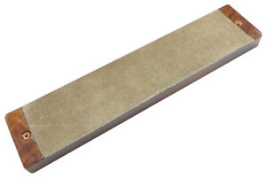 95585 Beber Leather Knife Strop on a Rosewood Board - Made in the UK