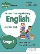 Hodder Cambridge Primary English - Stage 1 - St`S Jan 2015, NA, New Book