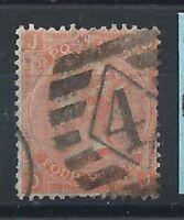 Grande Bretagne N°32 Obl (FU) 1865 Planche 14 - Victoria
