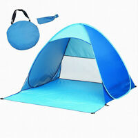 Waterproof UV Easy Pop Up Beach Sun Shelter Tent Portable Outdoor Family Camping