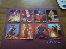 95 FLEER ULTRA  X-Men base Trading Cards  total cards 24