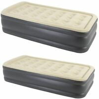 Jilong Luxury Air Bed Mattress Soft Flocked Inflatable Relaxing Airbed Camping