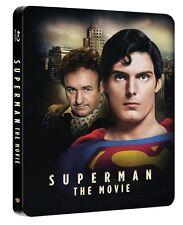 Superman The Movie Steelbook Blu Ray (Region Free A,B,C)