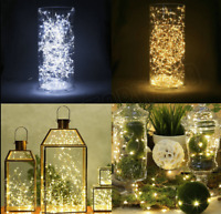 10 LED String Fairy Battery Lights Wedding Party Decoration Christmas Gift