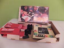 Vintage 1981 Coleco Quiz Wiz Challenger Game In Original Box