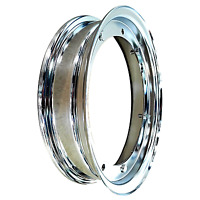 Cerchio cerchione cromato  3.00/3.50-10  PER VESPA PX 125 150 200 -SPECIAL PK XL