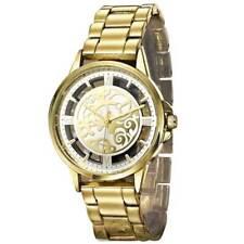 Avon WristWatch Women Girl analogioco Quartz Steel Watch Strap Gold