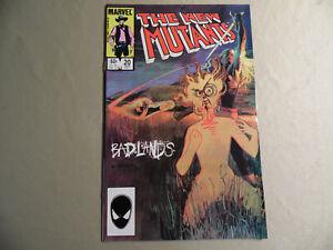 New Mutants #20 (Marvel 1984) Free Domestic Shipping