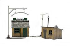 OO Trackside Construction Kit - Charbon bureau & EAU STATION - Dapol C011