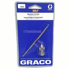 "Graco HVLP 256950 Quick Release Fluid Needle Nozzle #6 Kit 0.098"" 2.5mm"