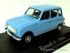 RENAULT 4 1964 IXO RBA COCHE  ESCALA 1/43