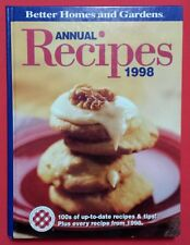 Better Homes & Gardens Recipes 1998 Hardcover Cookbook Baking Holiday Cookies