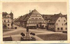 """Hartenstein / Erzgebirge, Markt, m. Gastwirtschaft """"Zum goldnen Lamm"""", 1933"""