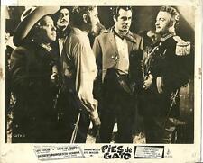 Luis Aguilar and Fernando Casanova in Pies de gato 1957 Mexican movie photo 9416