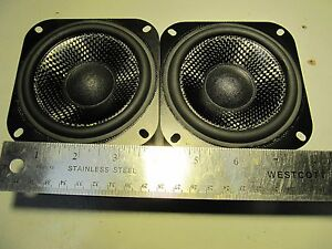 """Orion NT4s 4"""" woofers Carbon Fiber New!!! a/d/s/ Warranty by adsspeakersservic!!"""